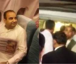 Pakistani passenger power forces two politicians off a plane
