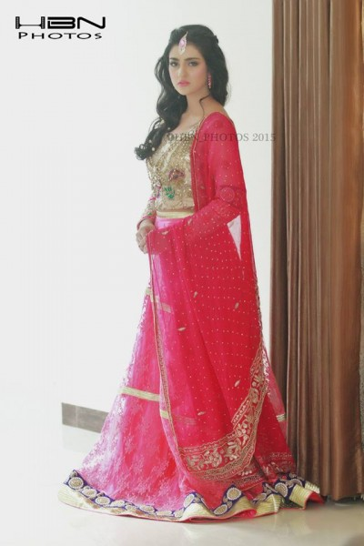 The Gorgeous and Beautiful Sarah Khan. She looks exquisite in Bridal Wear (12)