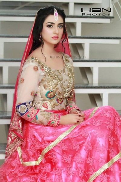 The Gorgeous and Beautiful Sarah Khan. She looks exquisite in Bridal Wear (5)