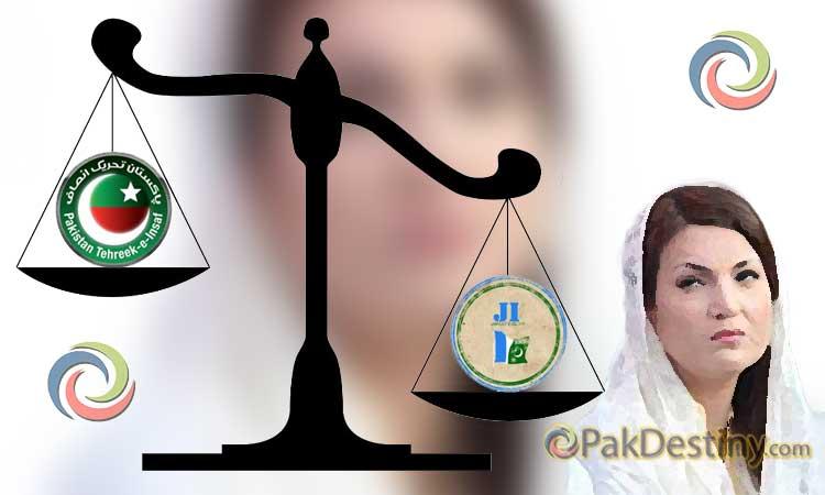 reham khan, jamaat islami,pti