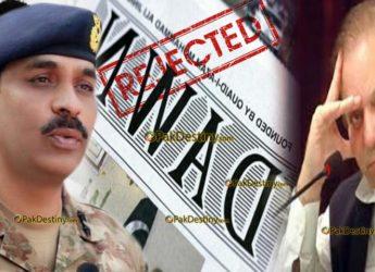 gen asif ghafoor,dawn leaks,nawaz sharif