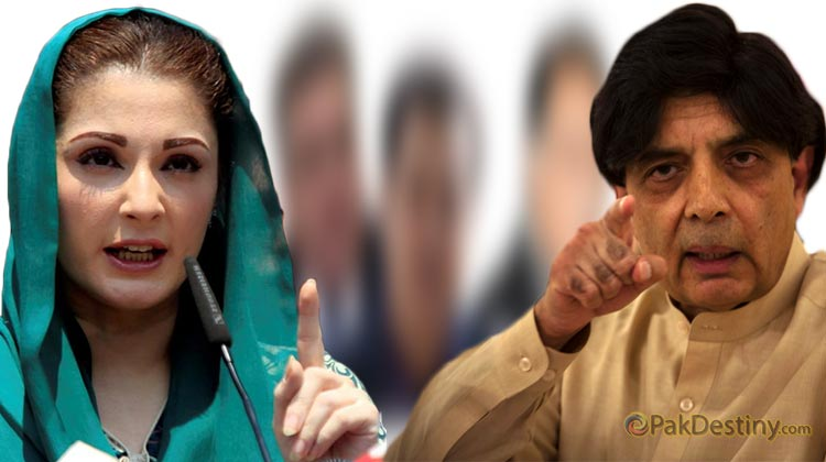 chaudhry nisar ali khan,maryam nawaz,child,politics