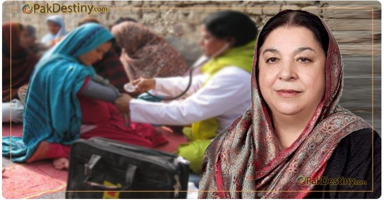 Dr Yasmin on the footsteps of Shahbaz Sharif