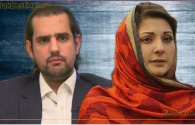 shahbaz taseer,maryam nawaz,Shahbaz Taseer trolled on social media for his remarks about Maryam Nawaz marriage