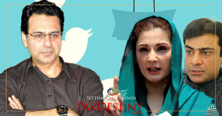 Maryam and Hamza hardly made a single tweet to back Pak Army