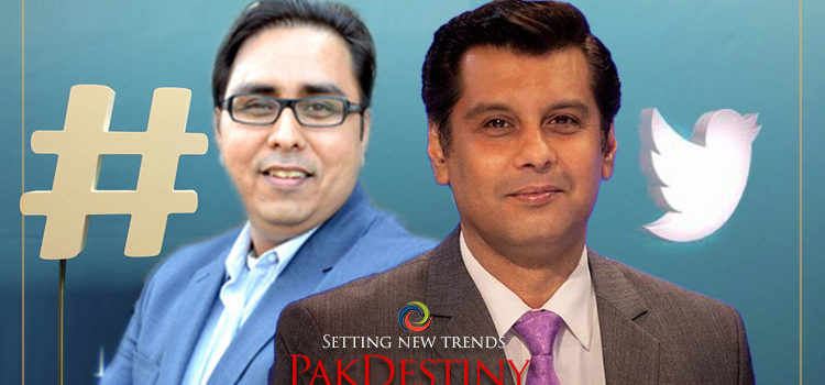 Shahbaz Gill is at odds with Twitter again... and this time on Arshad Sharif issue