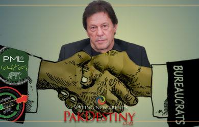 pakstan's bureacracy joins hand against pti goverment imran khan