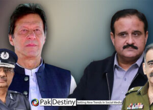 Imran Khan's nominated Lahore police chief Umer Sheikh ousted his boss -- poor Buzdar sees helplessly